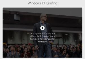 In diretta streaming dal Microsoft Campus di Redmond, aggiornamenti e approfondimenti sullo stato di sviluppo di Windows 10