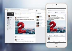 Con Facebook at work, il social network entra nelle aziende.
