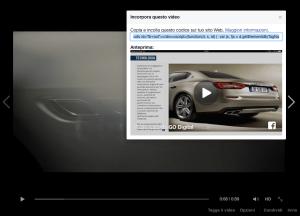 Facebook all'attacco di YouTube: è attiva l'opzione per incorporare i video.