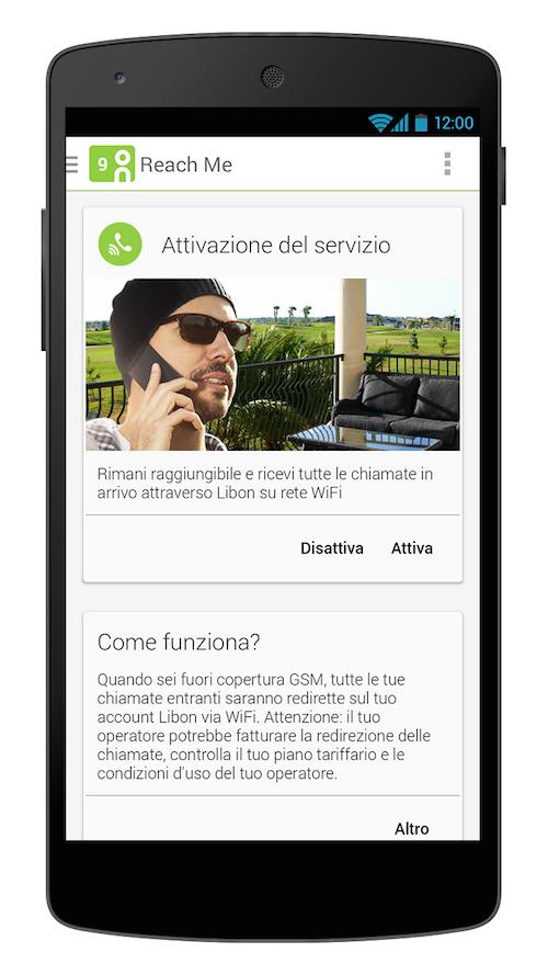 L'innovativa funzione Reach Me di Libon viene lanciata in esclusiva sul territorio italiano.