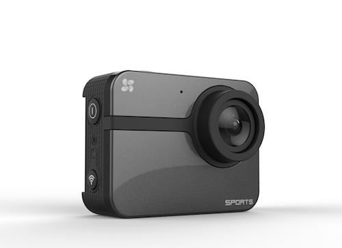 ezviz S1, la prima action cam del nuovo marchio di Hikvision, si configura e personalizza tramite lo smartphone.